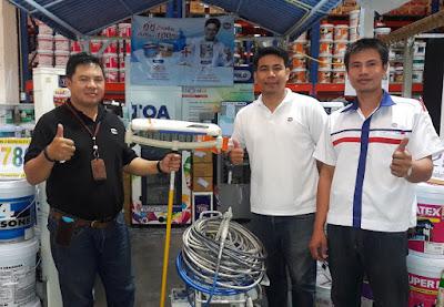 Graco Professional airless Paint Sprayer Buriram Thailand