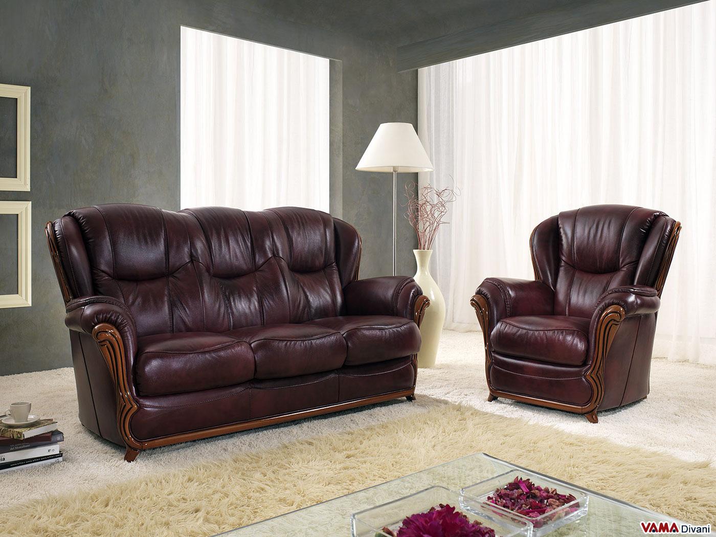 Vama divani blog un bellissimo divano classico in pelle - Divano classico in pelle ...