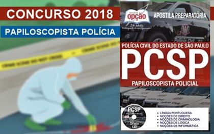 Apostila PC-SP 2018 - Papiloscopista Policial