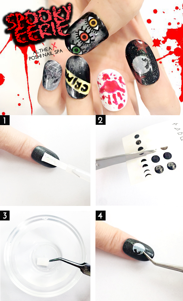 Spooky eerie halloween nail art tutorial althea korea spooky eerie halloween nail art tutorial prinsesfo Gallery