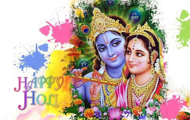 Radha krishna Happy Holi Full HD Wallpapers Images 2017 Free Download