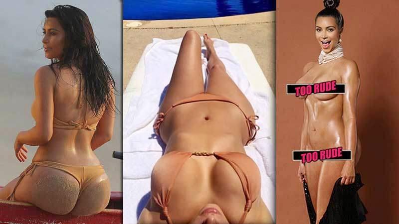 kim kardashian naked moments