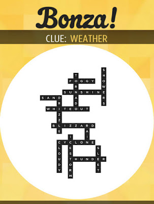 December 12 2017 Bonza Daily Word Puzzle Answers