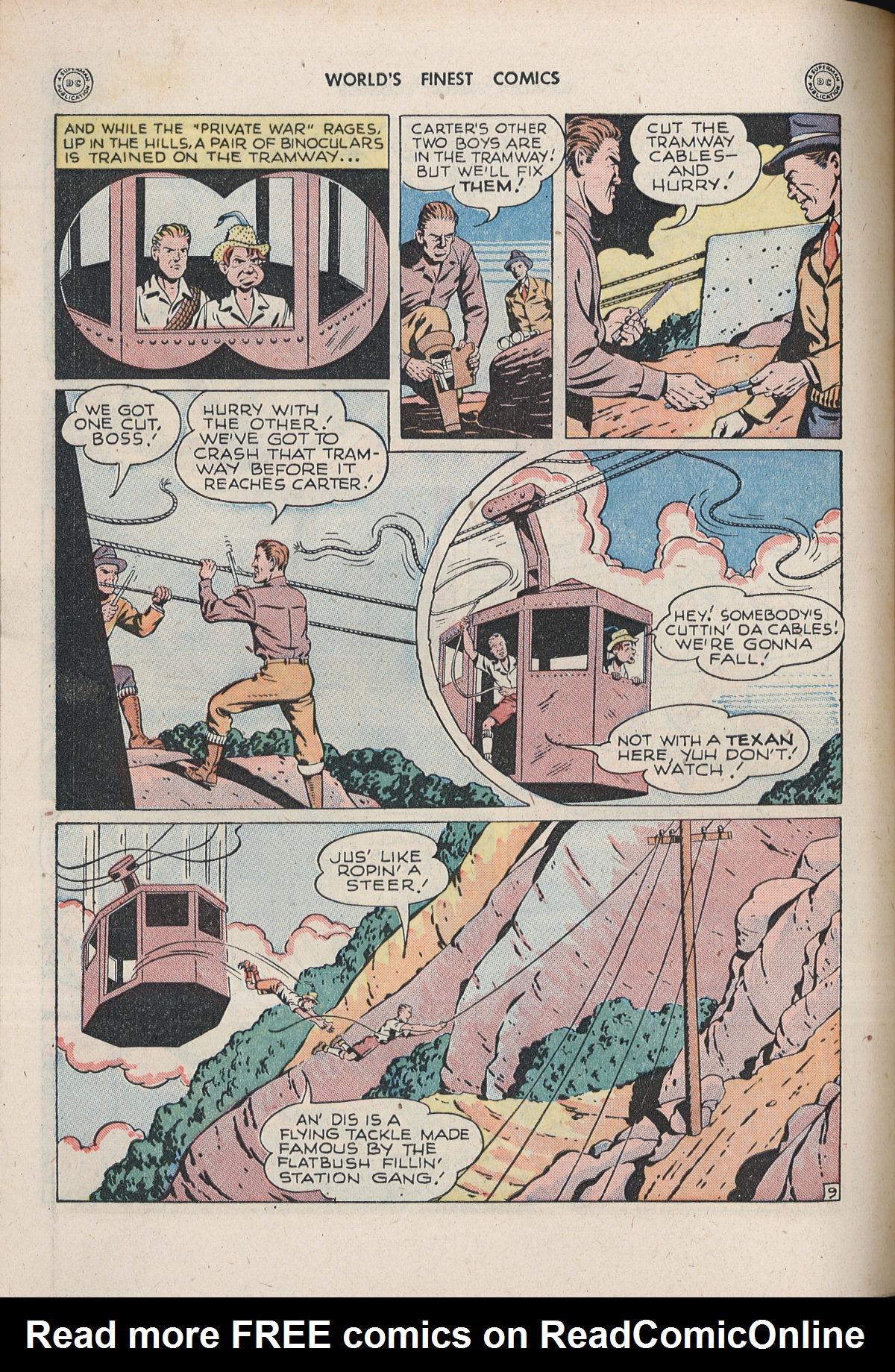 Read online World's Finest Comics comic -  Issue #33 - 56