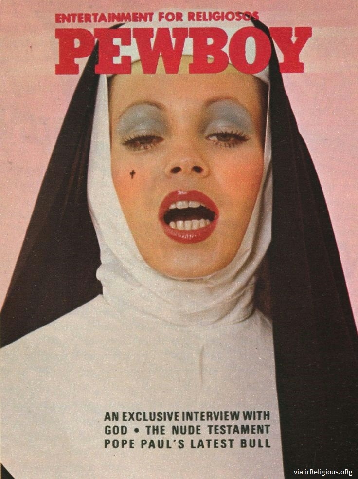 Funny Pewboy Religious Magazine - Entertainment for religiosos