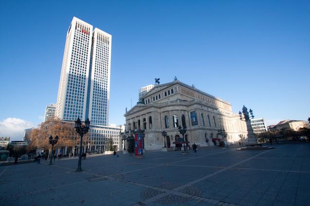 UBS e Alte Oper-Francoforte