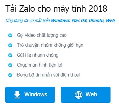 Tải Zalo cho PC và máy Tính bảng Android miễn phí a