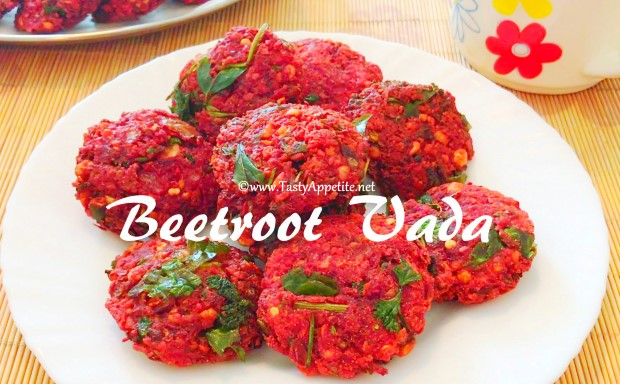 easy beetroot vada recipe