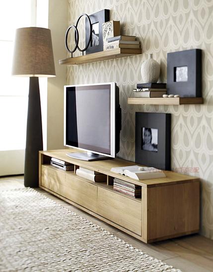 Kumpulan Desain Meja dan Rak TV Minimalis Terbaru Yang Elegan 015