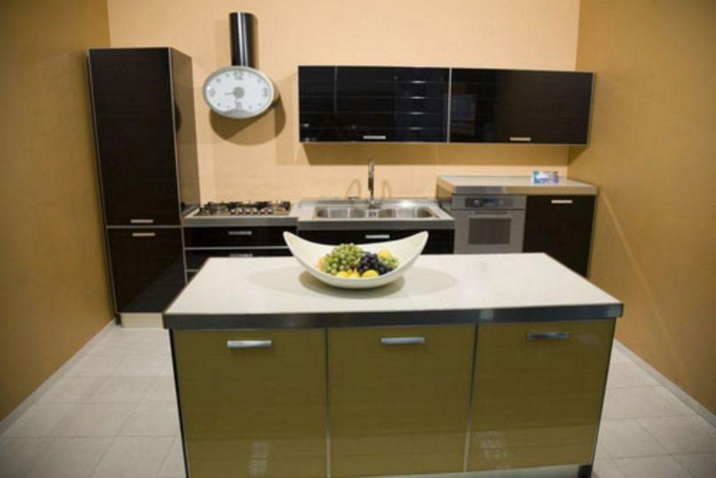 kreasi interior desain kitchen set minimalis terlihat menarik
