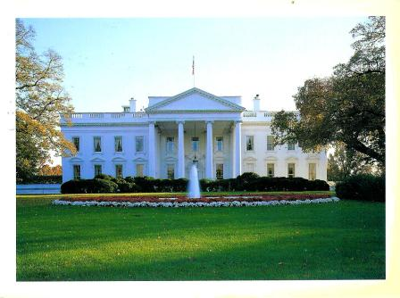 My Postcard Collection White House Usa