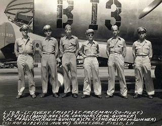 James Avery and B-26 Crew