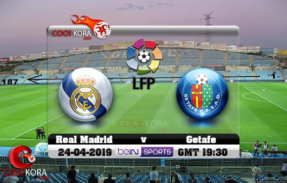 مشاهدة مباراة خيتافي وريال مدريد اليوم 25-4-2019 في الدوري الأسباني