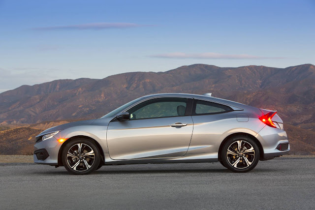 Novo Honda Civic Coupé 2016