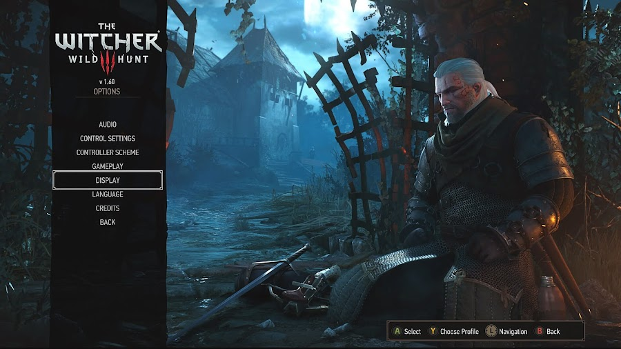 the witcher 3 geralt of rivia xbox one x