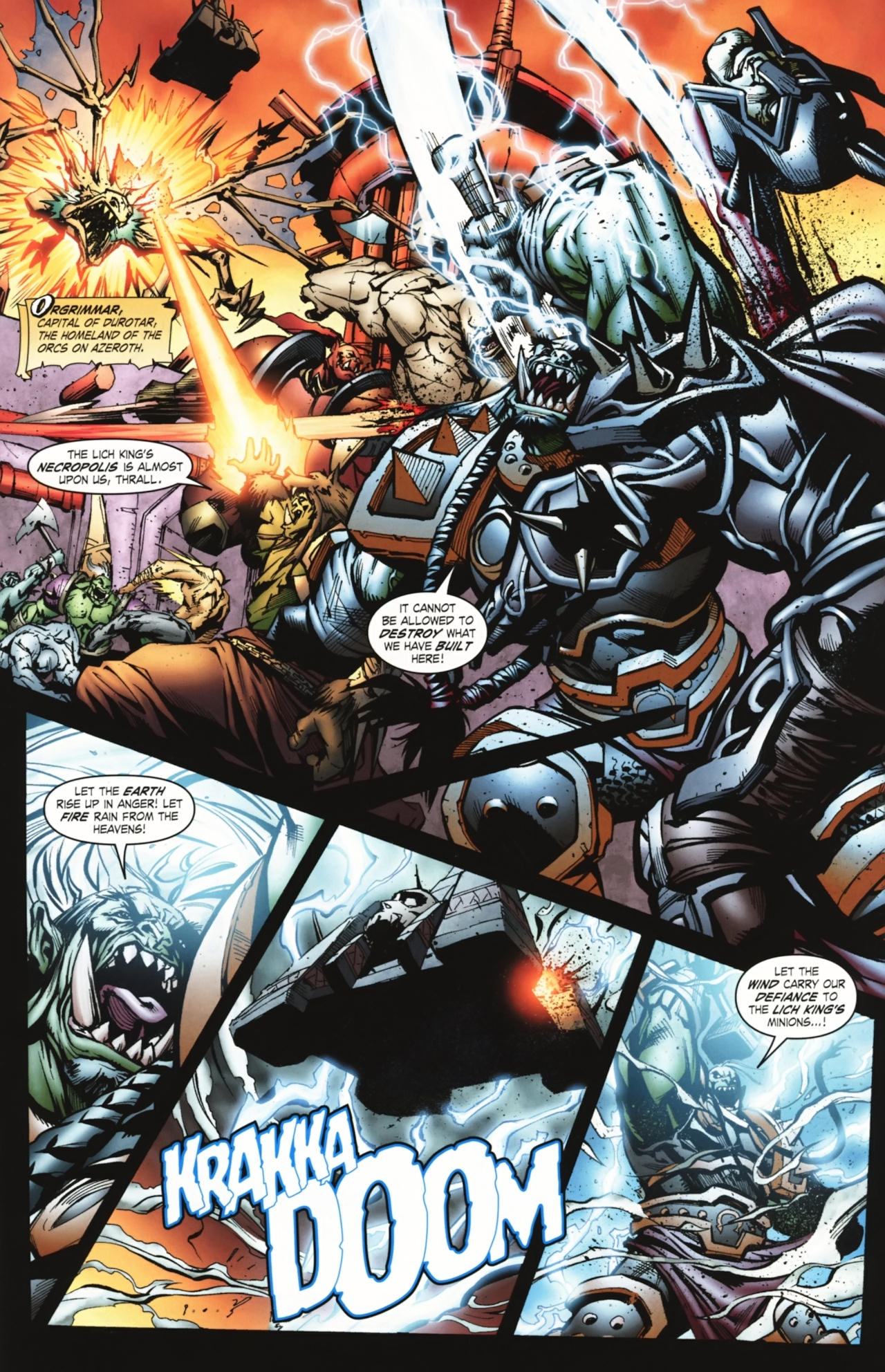 Read online World of Warcraft comic -  Issue #20 - 5