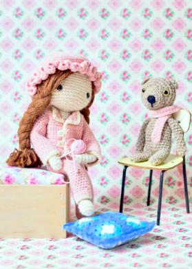 Dress Up Dolls Amigurumi Crochet Patterns - Crochet Pattern Book ... | 390x279
