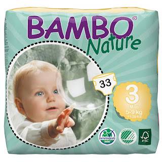 Does an Eco-Friendly Disposable Diaper Exist? Yes! Check out Bambo Nature diapers.