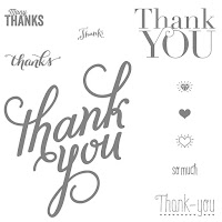 Another Thank You Photopolymer Stamp Set 136835 Price: £14.00