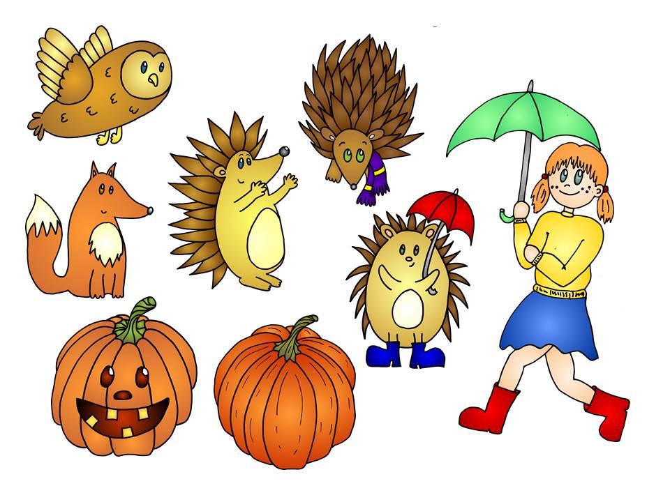 Abc Katze Neue Cliparts Zum Thema Herbst