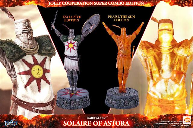 Mira esta nueva figura basada en Dark Souls, ¡Solaire of Astora!