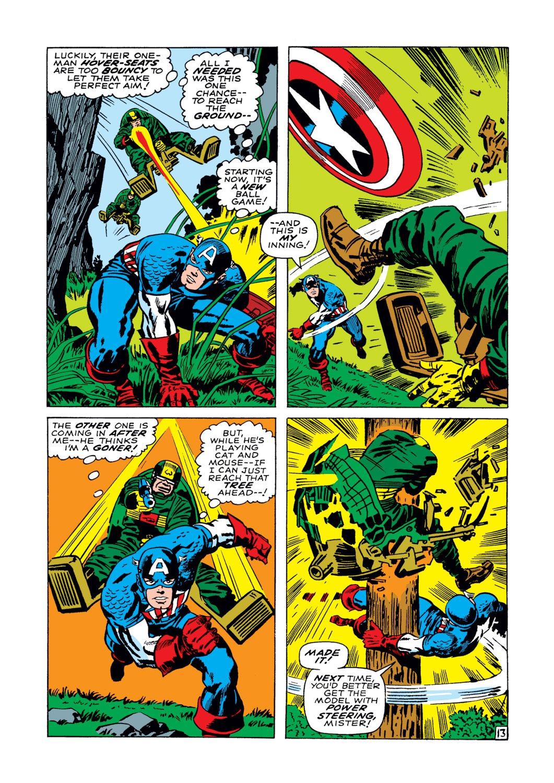 Read online Captain America (1968) comic -  Issue #102 - 14