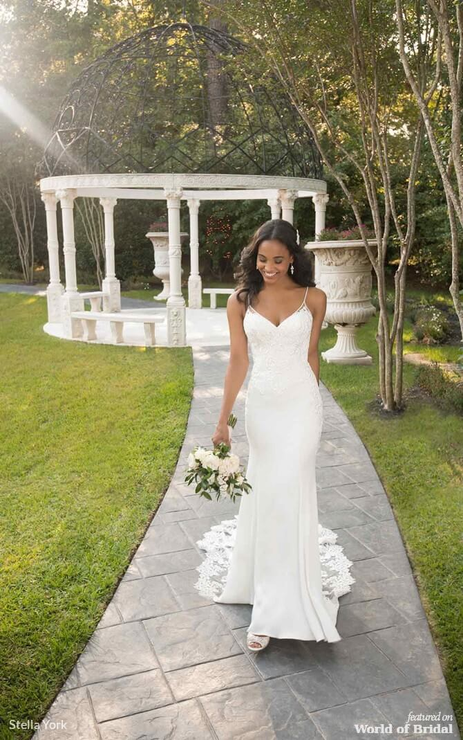 c76e4486c987 Stella York Spring 2019 Wedding Dresses - World of Bridal