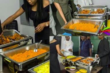Bride Slaps Her Groom's Mother Back Over Food In Lagos... And Wedding Scattered