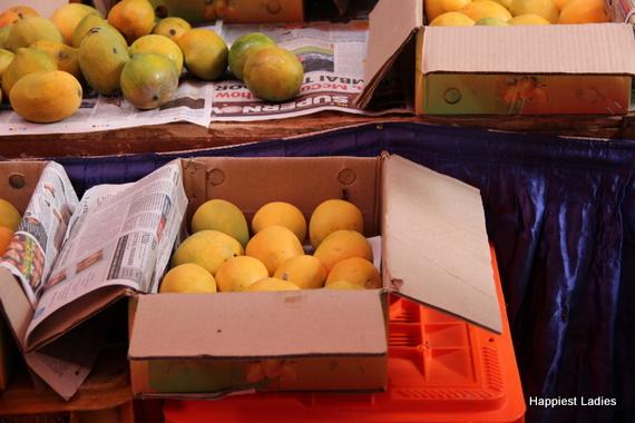Alphonso Mango fruit box