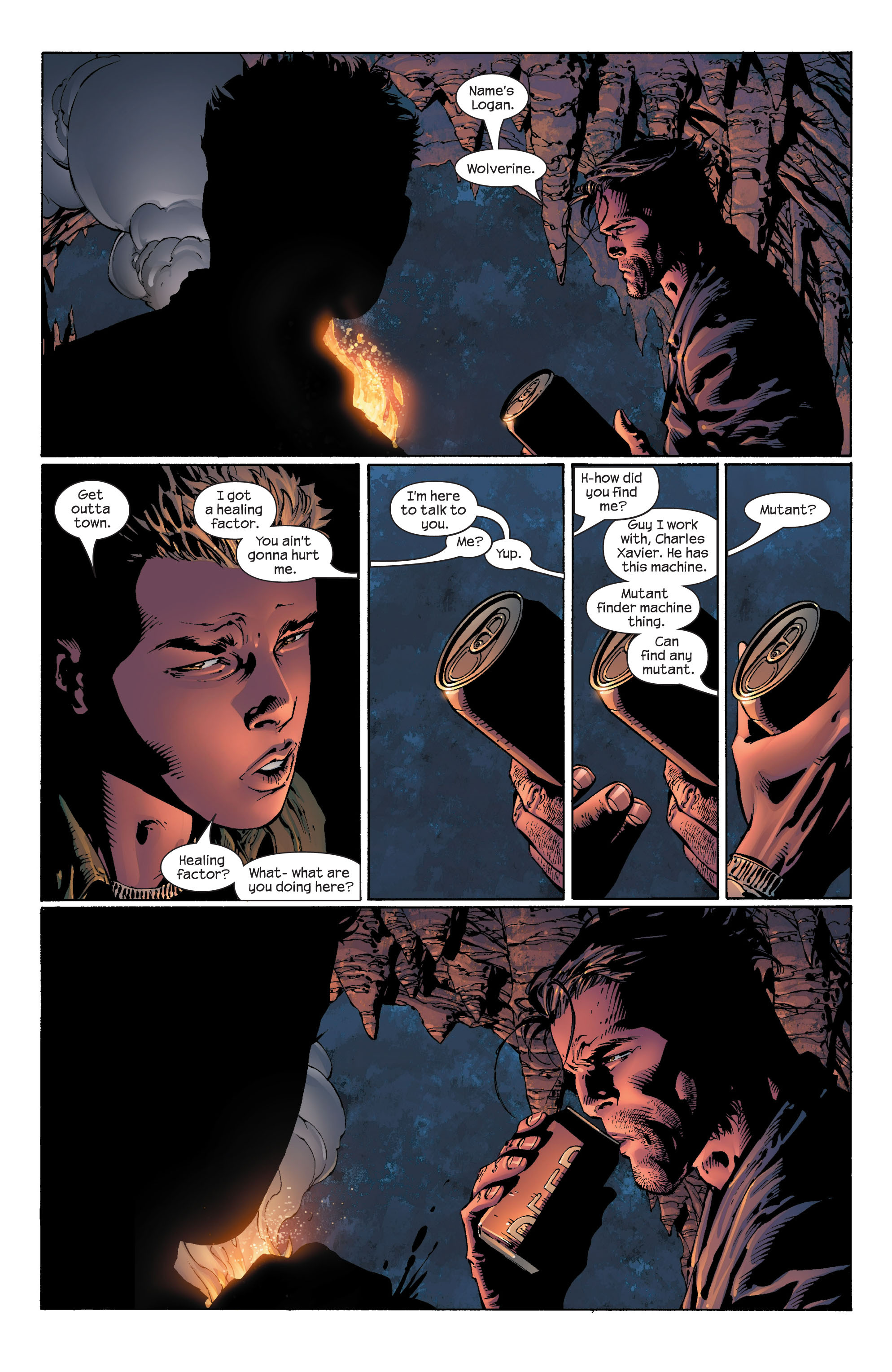 Read online Ultimate X-Men comic -  Issue #41 - 14
