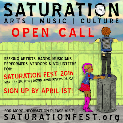 Saturation Fest Open Call 2016