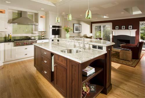 Bon Bi Level Kitchen Islands Design Ideas
