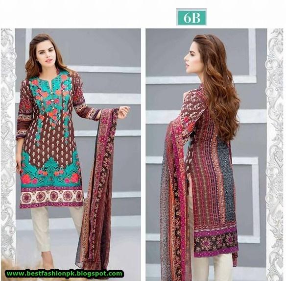 Kalyan Lawn by ZS Textiles 2016 Vol-3 www.fashionwebcity.blogspot.com