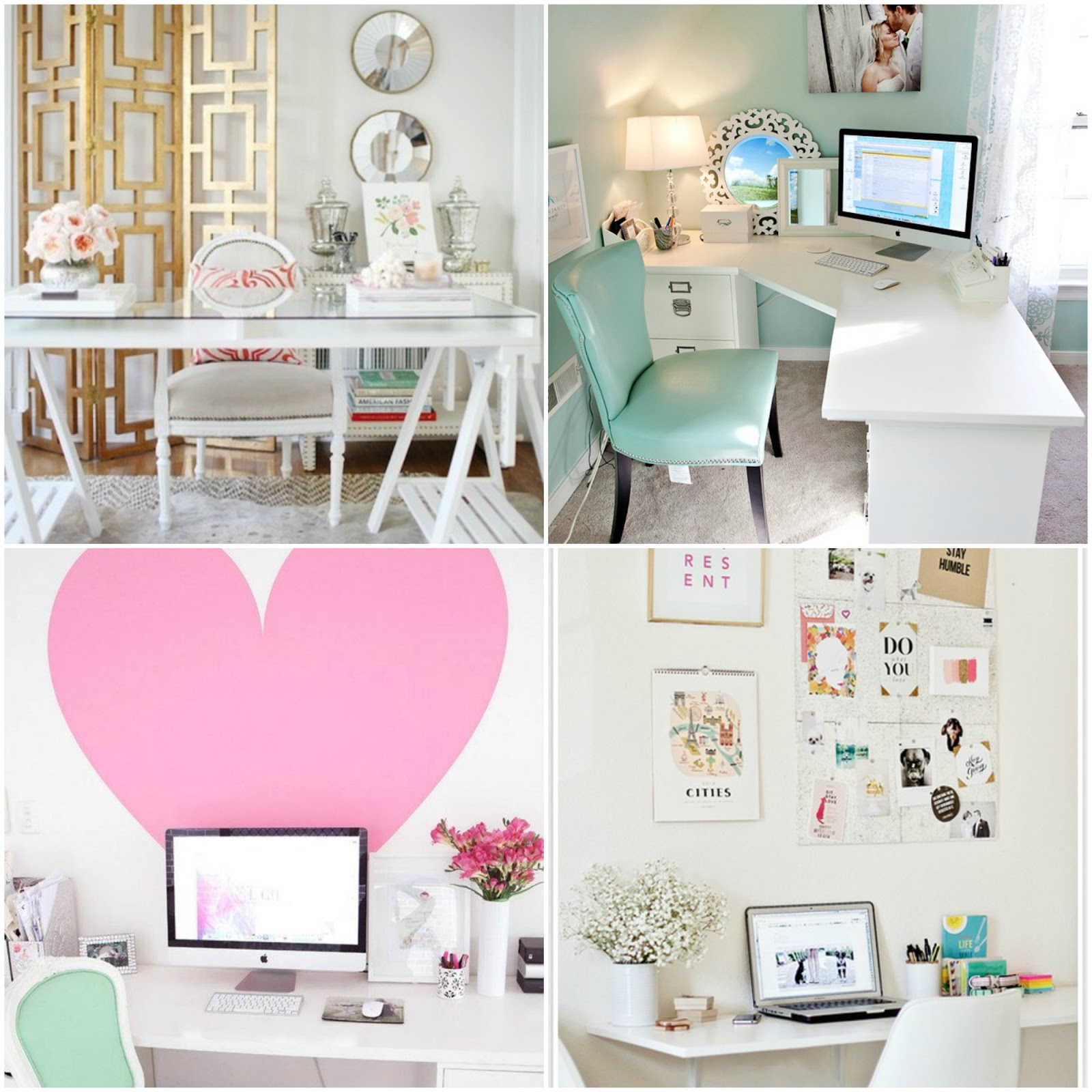 Home Inspiration: The Southern Thing: Home Office Inspiration