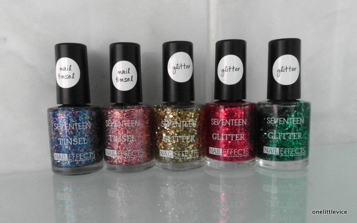 One Little Vice Beauty Blog: Seventeen christmas glitter nail polishes