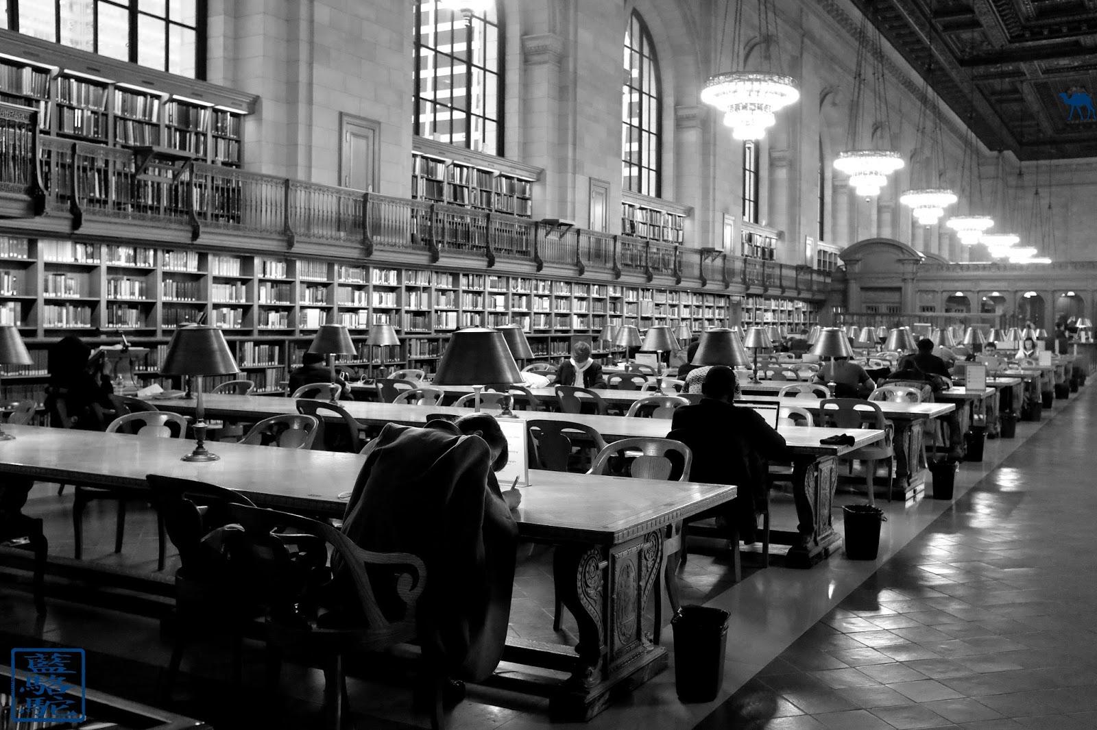 Le Chameau Bleu - Blog Voyage New York City Bibliothèque De New York - NYPL