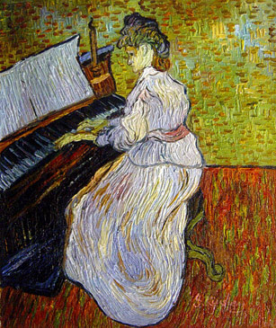 Marguerite Gachet, Van Gogh