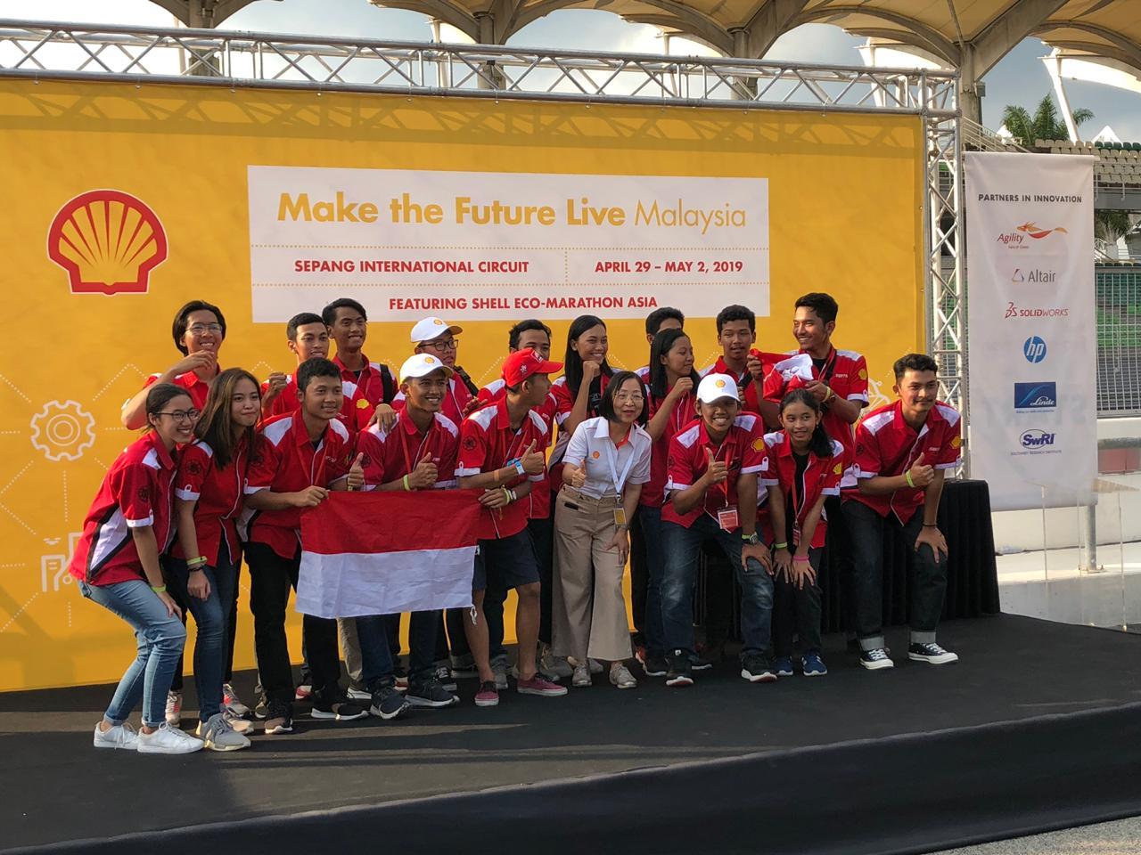 Mahasiswa Indonesia Kembali Meraih Penghargaan dan Berhak Menuju Ke Final Kompetisi Shell Eco-Marathon