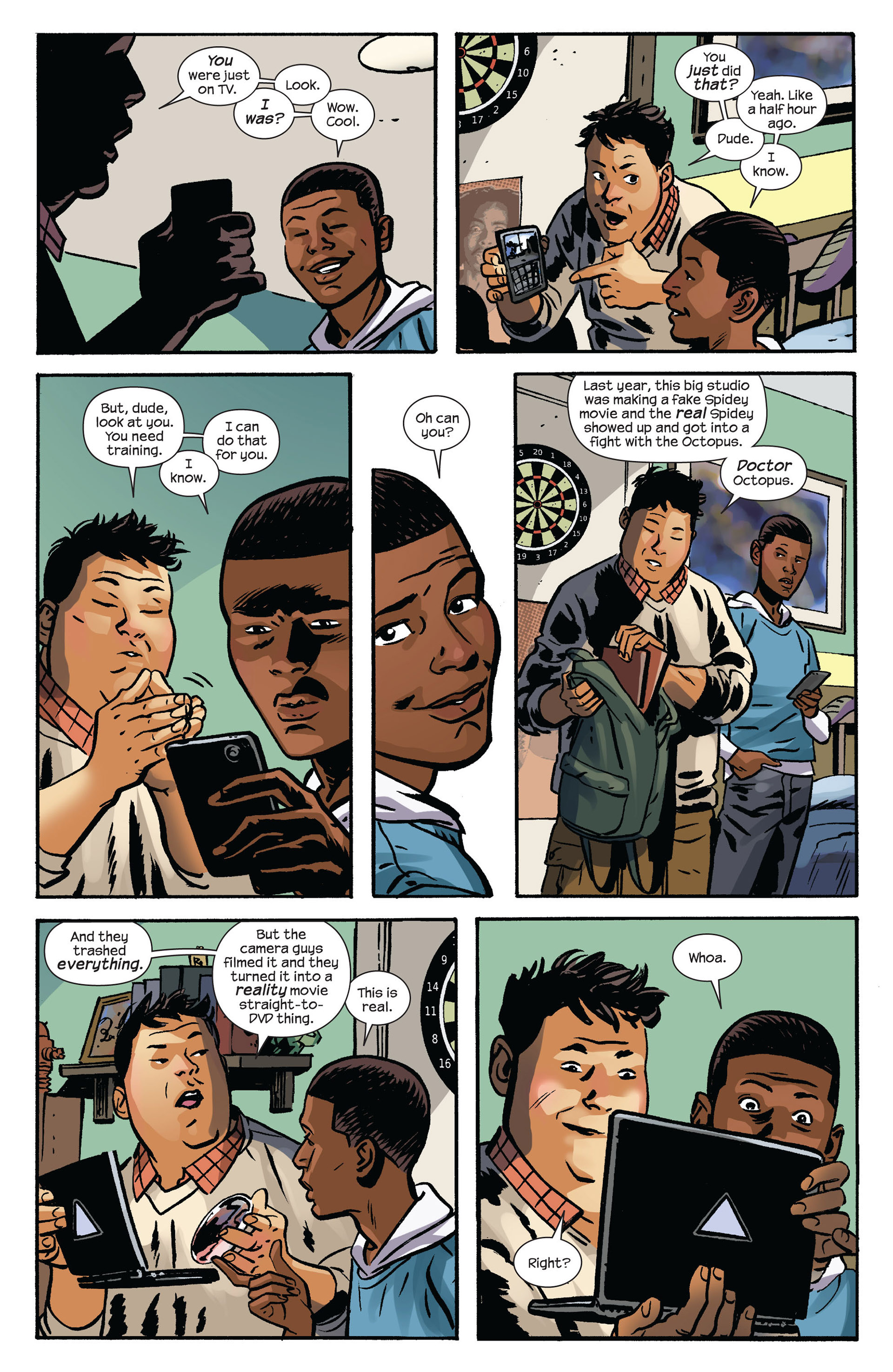Read online Ultimate Comics Spider-Man (2011) comic -  Issue #6 - 19