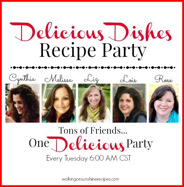 Over 100 delicious recipes for you to make for your family with our Delicious Dishes Recipe Party on Walking on Sunshine Recipes.