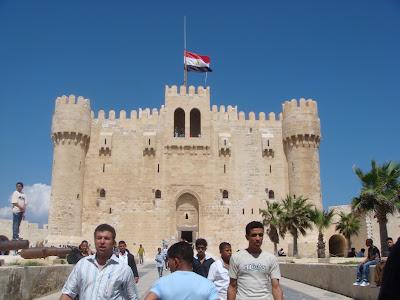 Kayet Bay Kalesi, İskenderiye