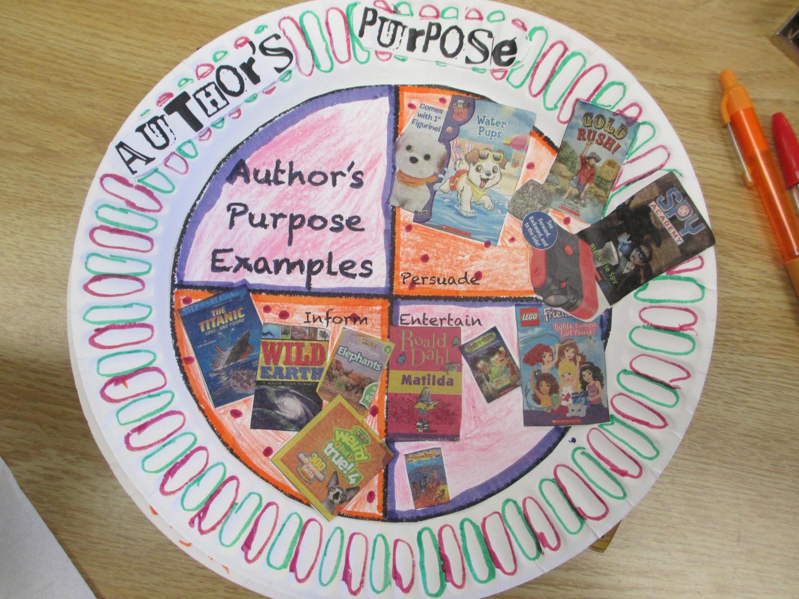 Fabulous In Fifth Author S Purpose Pie