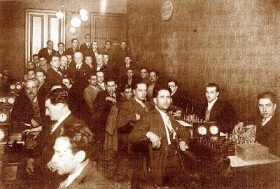 Local de ajedrez de la Unió d'Escacs en 1931