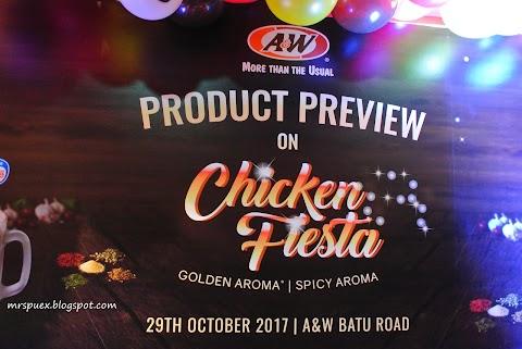 Alami Sendiri Kelazatan Chicken Fiesta Di  Restoran A&W