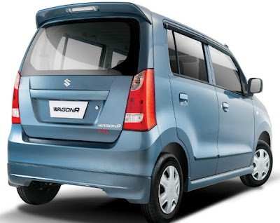 All New Maruti Suzuki Wagon R rear spoiler