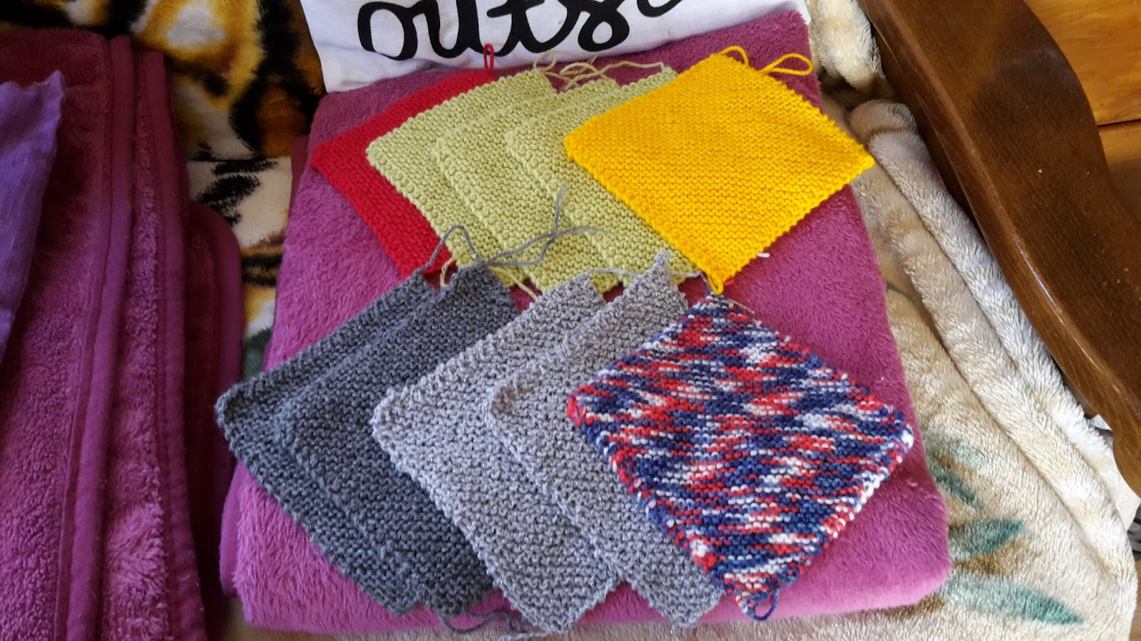 Knitting Blankets For Charity : The frugal handmade home charity knitting