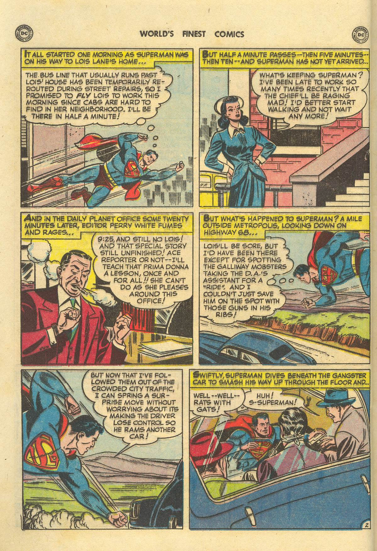 Read online World's Finest Comics comic -  Issue #51 - 4
