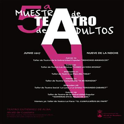 V Muestra de teatro de Adultos en Alcalá de Guadaíra