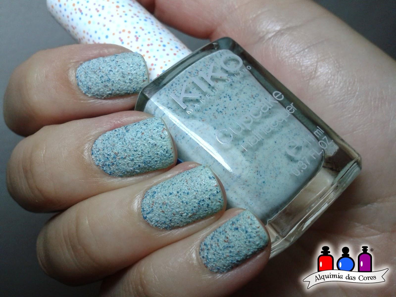 Caminie, Kiko, texturizado, liquid sand, verde, esmalte, nail polish, cupcake, 655