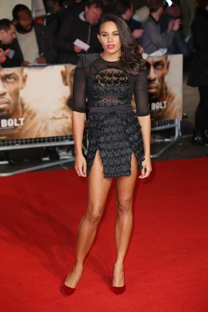Louise Hazel – 'I Am Bolt' Premiere in London